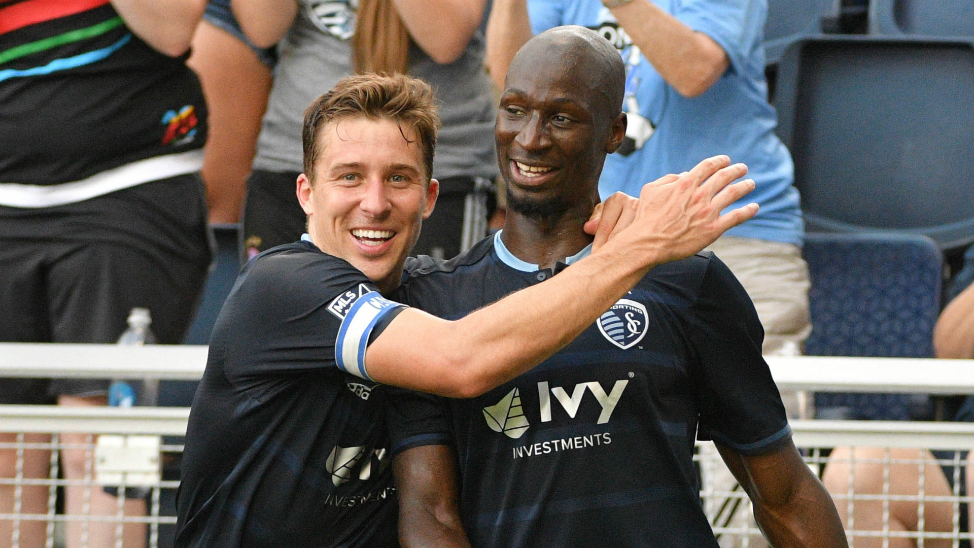 Matt Besler Ike Opara Sporting Kansas City
