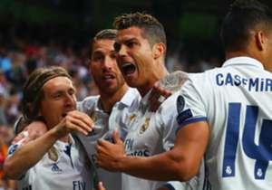 Am 12. Spieltag in LaLiga steigt das 218. Derbi madrileno. Real und Atletico schlugen in den letzten Jahren so manche dramatische Schlacht. Goal zeigt die besten Duelle der jüngeren Vergangenheit.