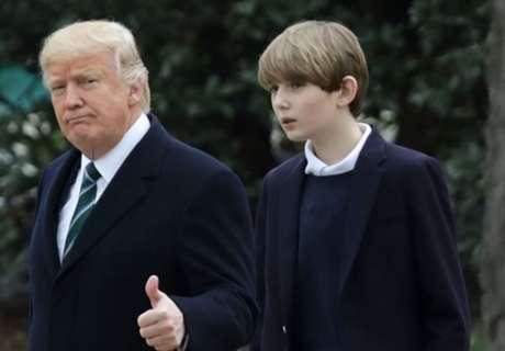 Trump's son the biggest name in U.S. soccer
