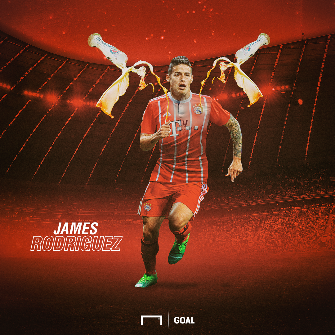EMBED ONLY James Rodriguez Bayern Munich GFX