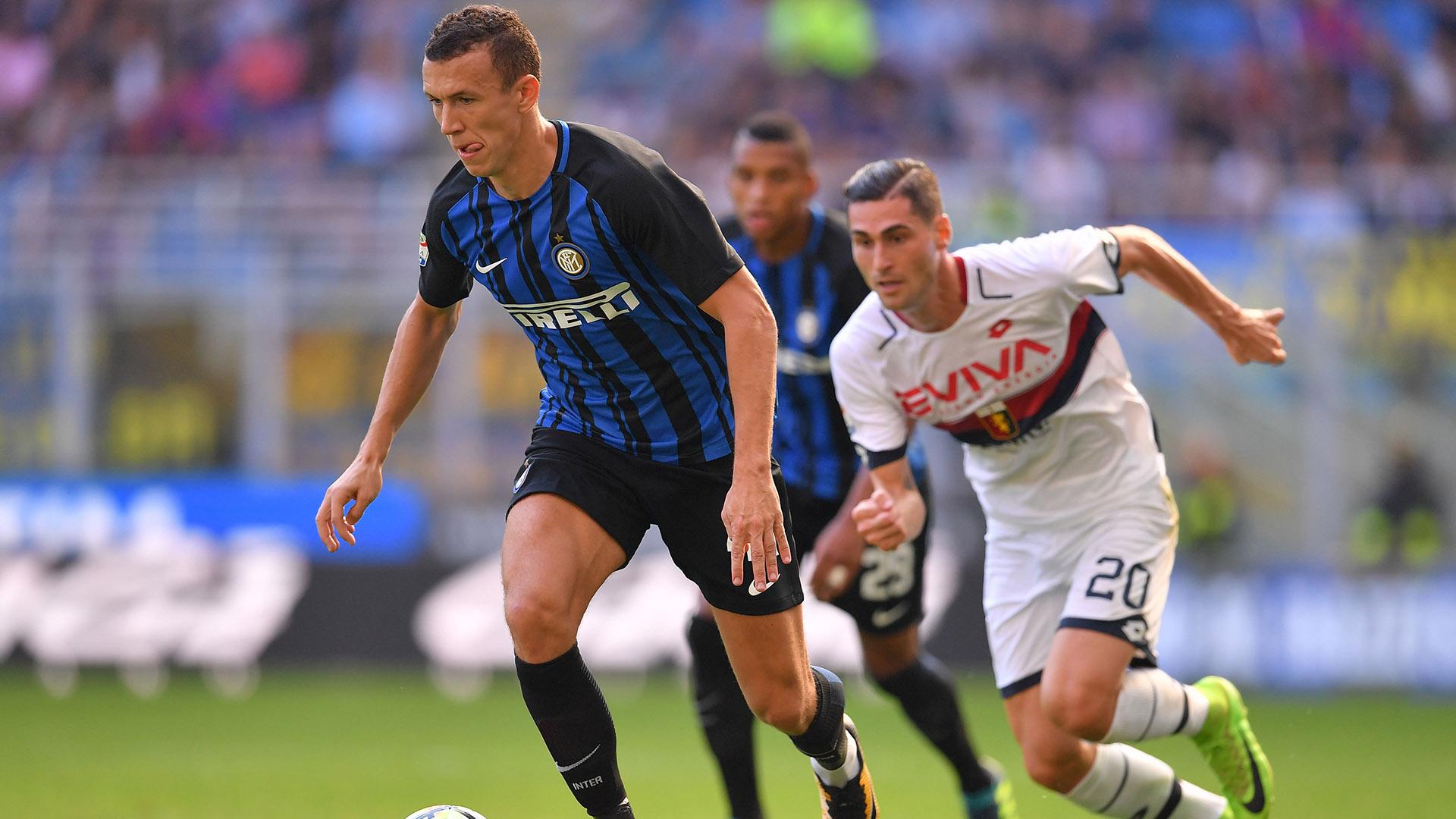 Ivan Perisic Inter Genoa Serie A