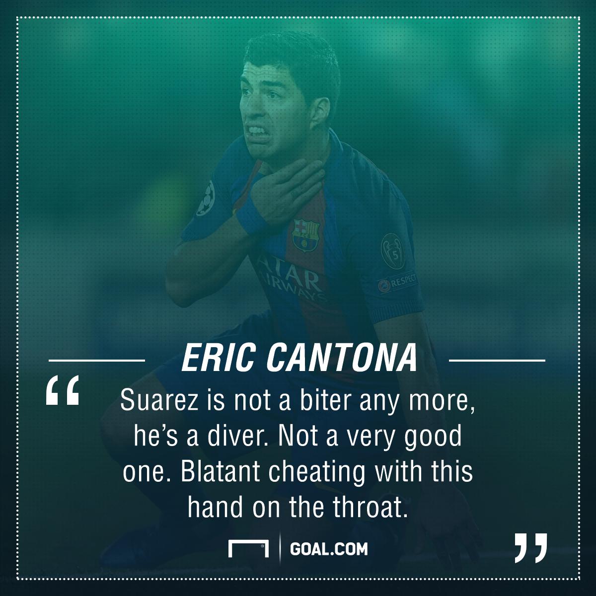Eric Cantona Luis Suarez