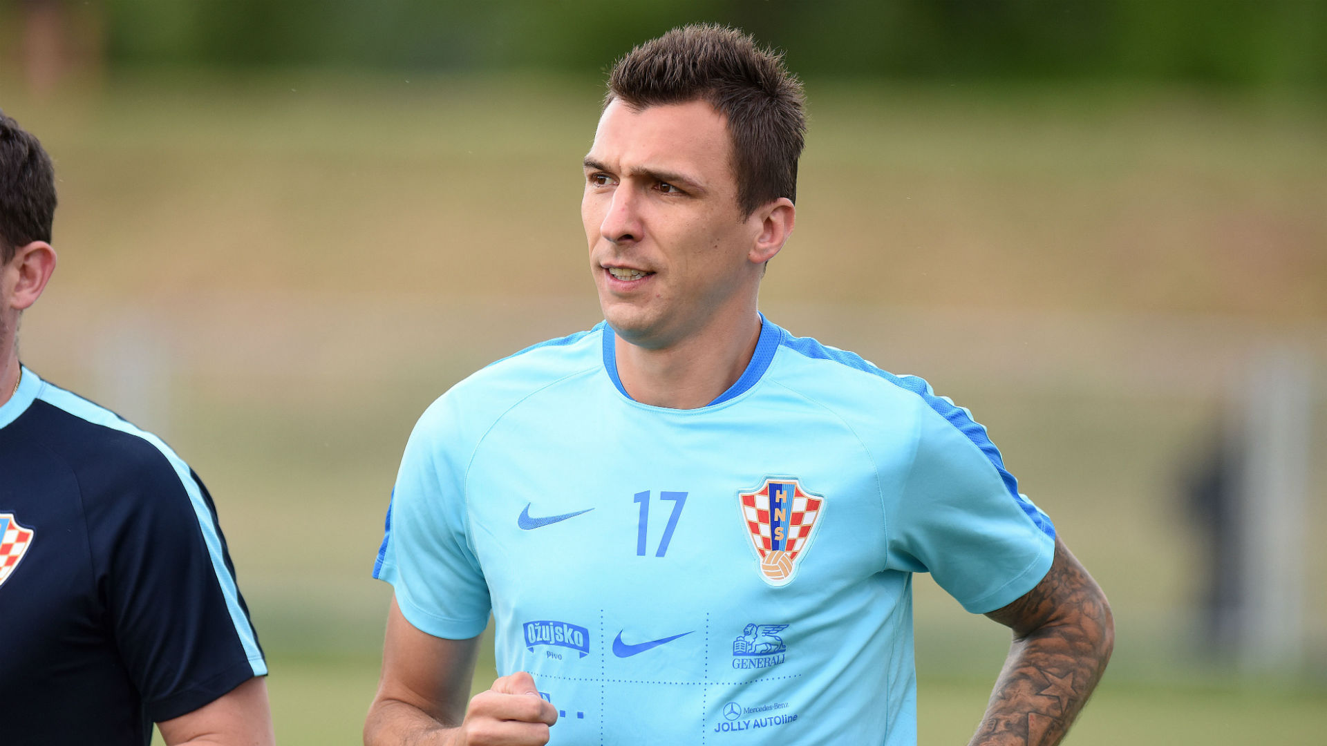 Mario Mandzukic Croatian training 06062017