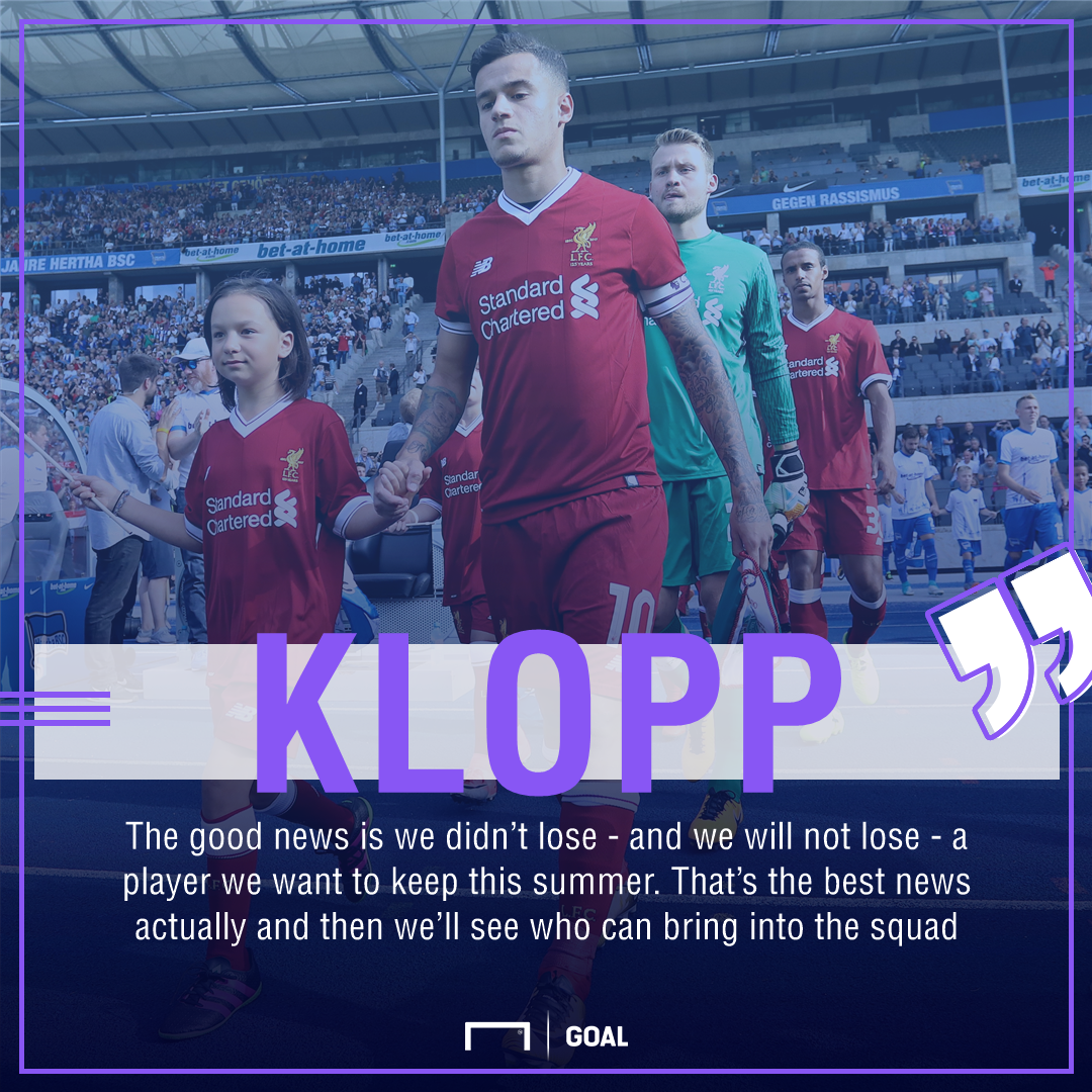 GFX Klopp Liverpool quote