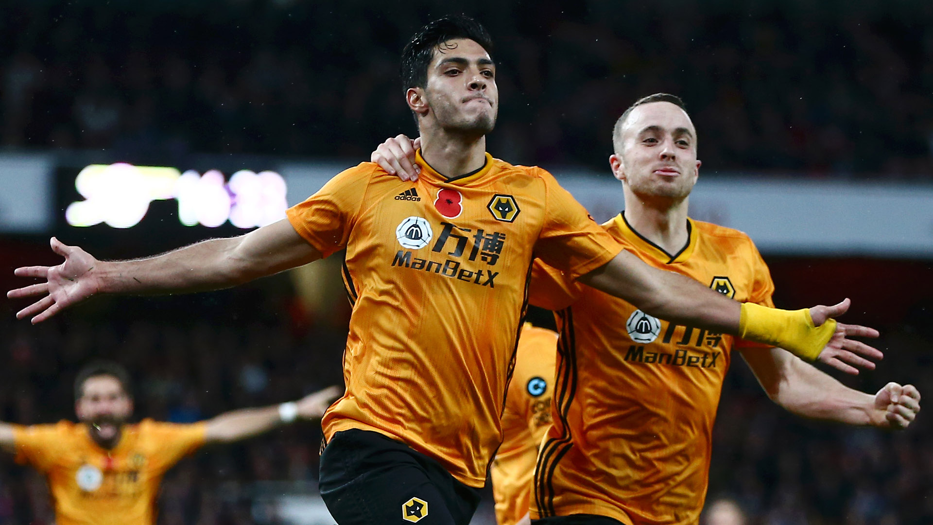 Jimenez heads Wolves to point against Arsenal, Guardado victorious in battle of Mexicans in Europe