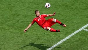 Shaqiri v Poland Euro 2016 European Championships France