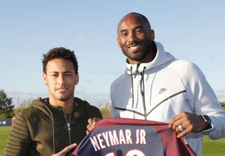 Kobe 'blown away' after watching PSG train