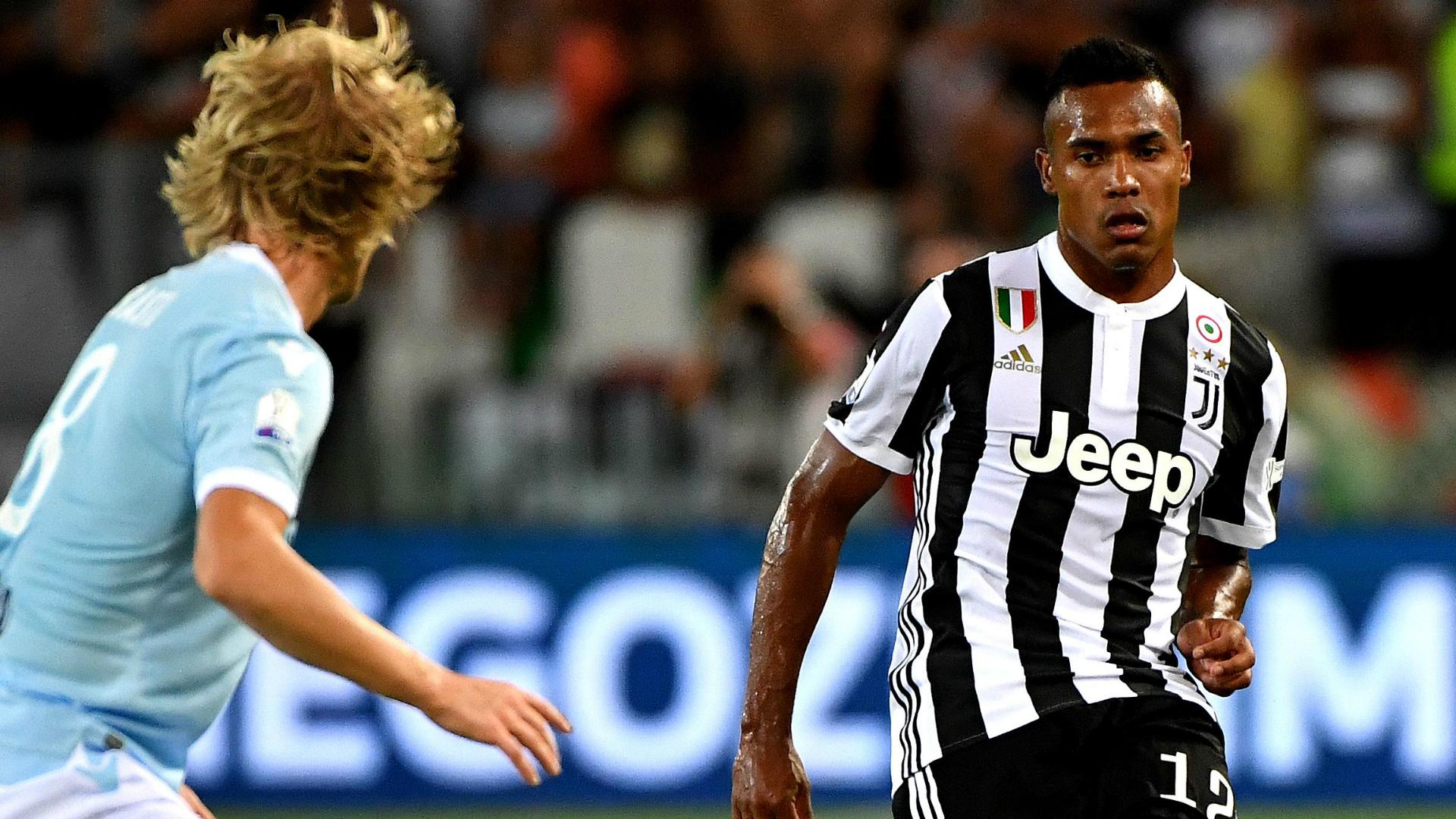 Alex Sandro Juventus Lazio Italian Supercup