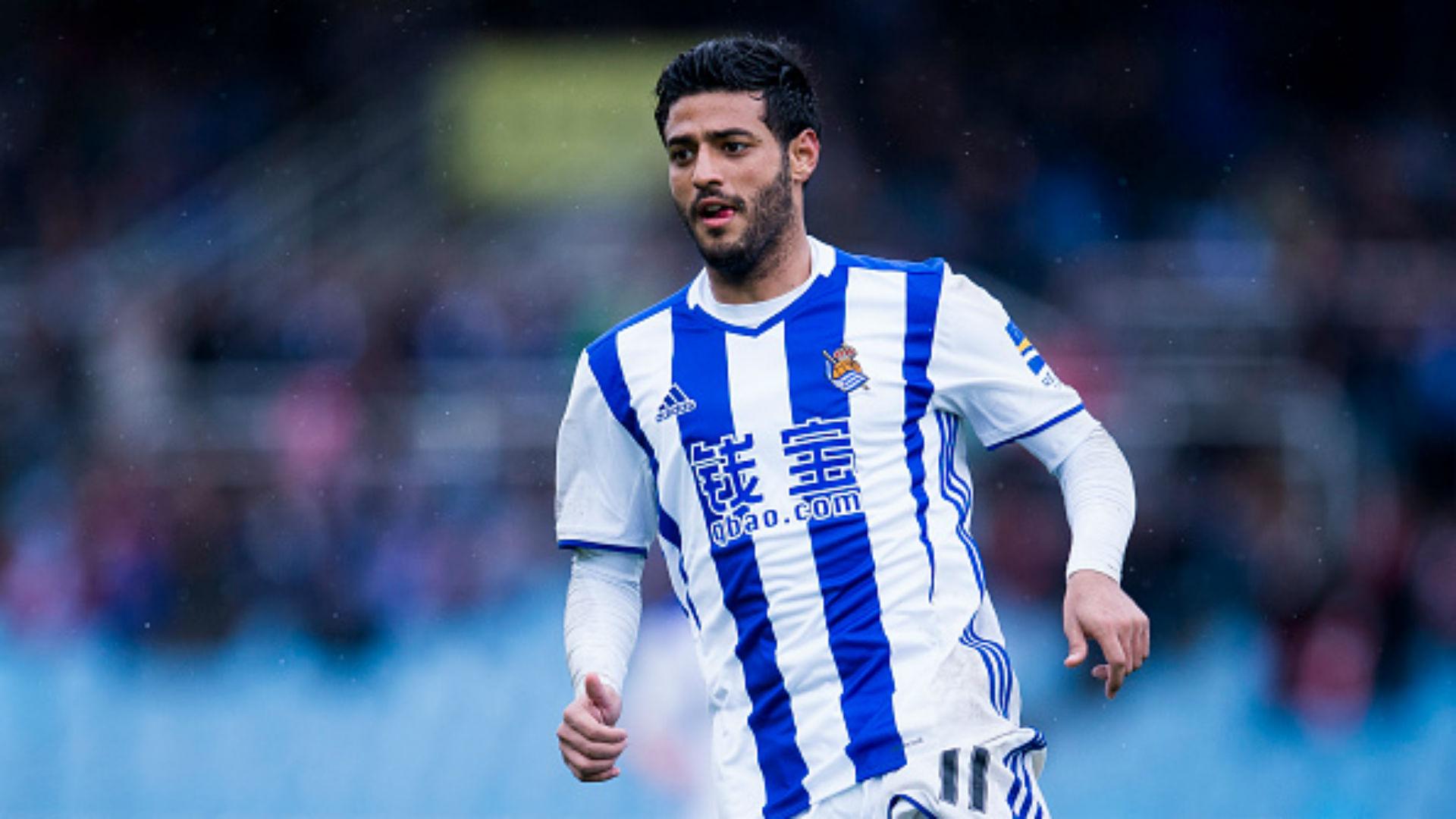 Carlos Vela Real Sociedad 2017 La Liga