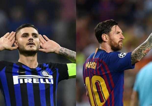 Lionel Messi y Mauro Icardi 92f9917c90c