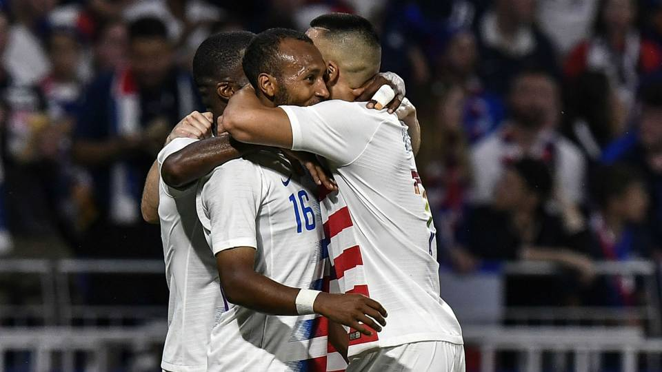 Julian Green USA France friendly 2018