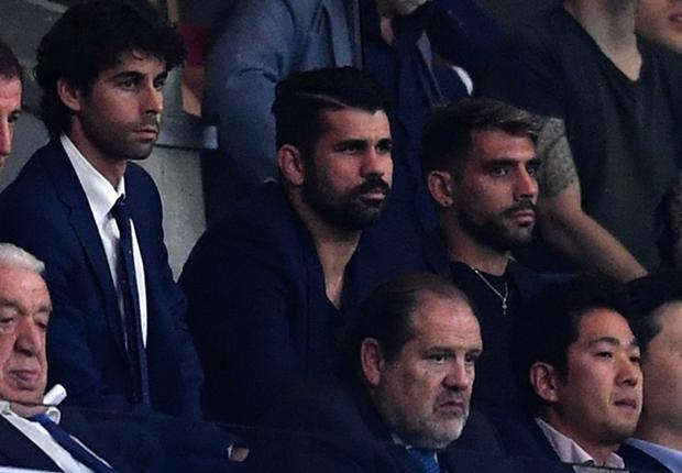 Diego Costa u nevjerici je ostao sjediti na tribini nakon poraza Atletica