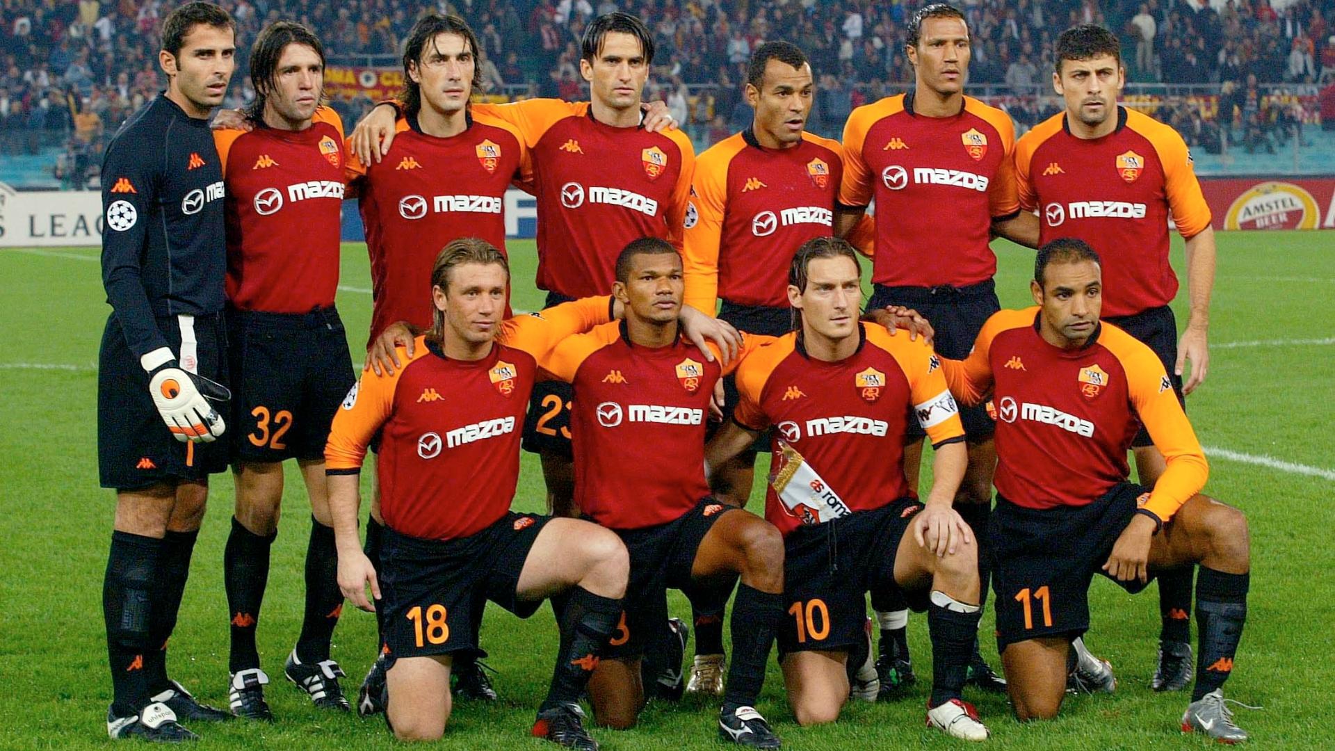 Gabriel Batistuta, Cafu & Tim Terbaik AS Roma Era