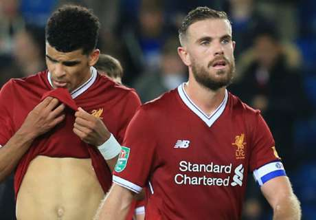 Klopp 'sick' after Liverpool dumped out of League Cup