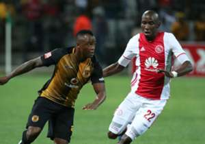Kaizer Chiefs were all over Ajax Cape Town in the first 45 minutes, with the likes of Tsepo Masilela and Ramahlwe Mphahlele giving the home side all sorts of problems in wide areas of the pitch.