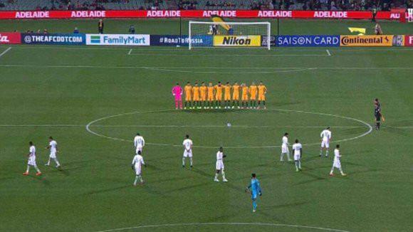 Saudi-Arabiens Fußballer missachten Schweigeminute