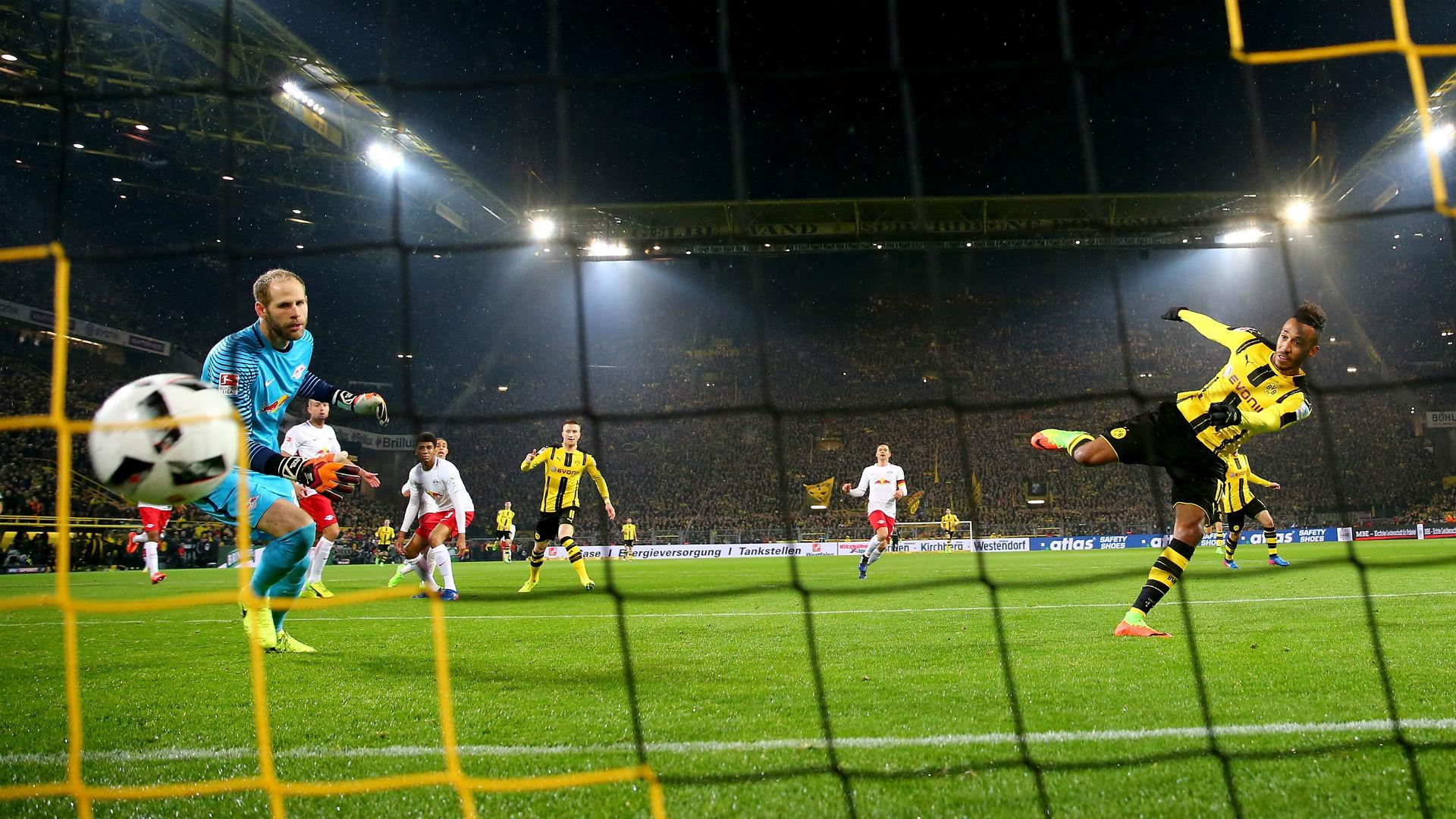 Aubameyang Borussia Dortmund RB Leipzig