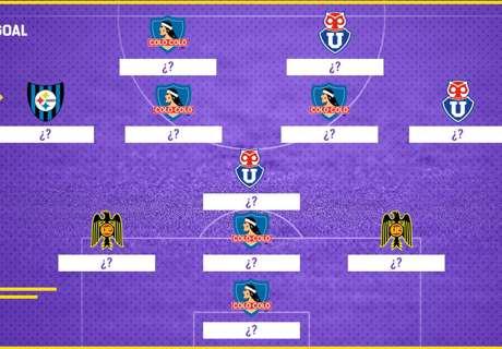 El XI ideal de Chile en 2017