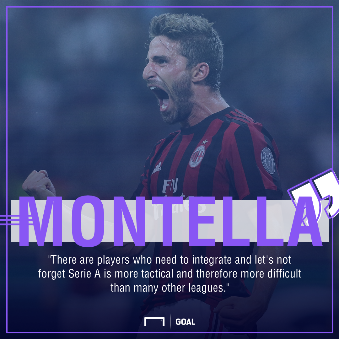 Montella quote
