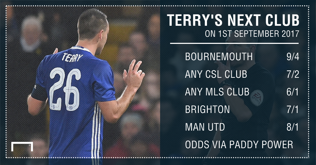 GFX Terry next club betting