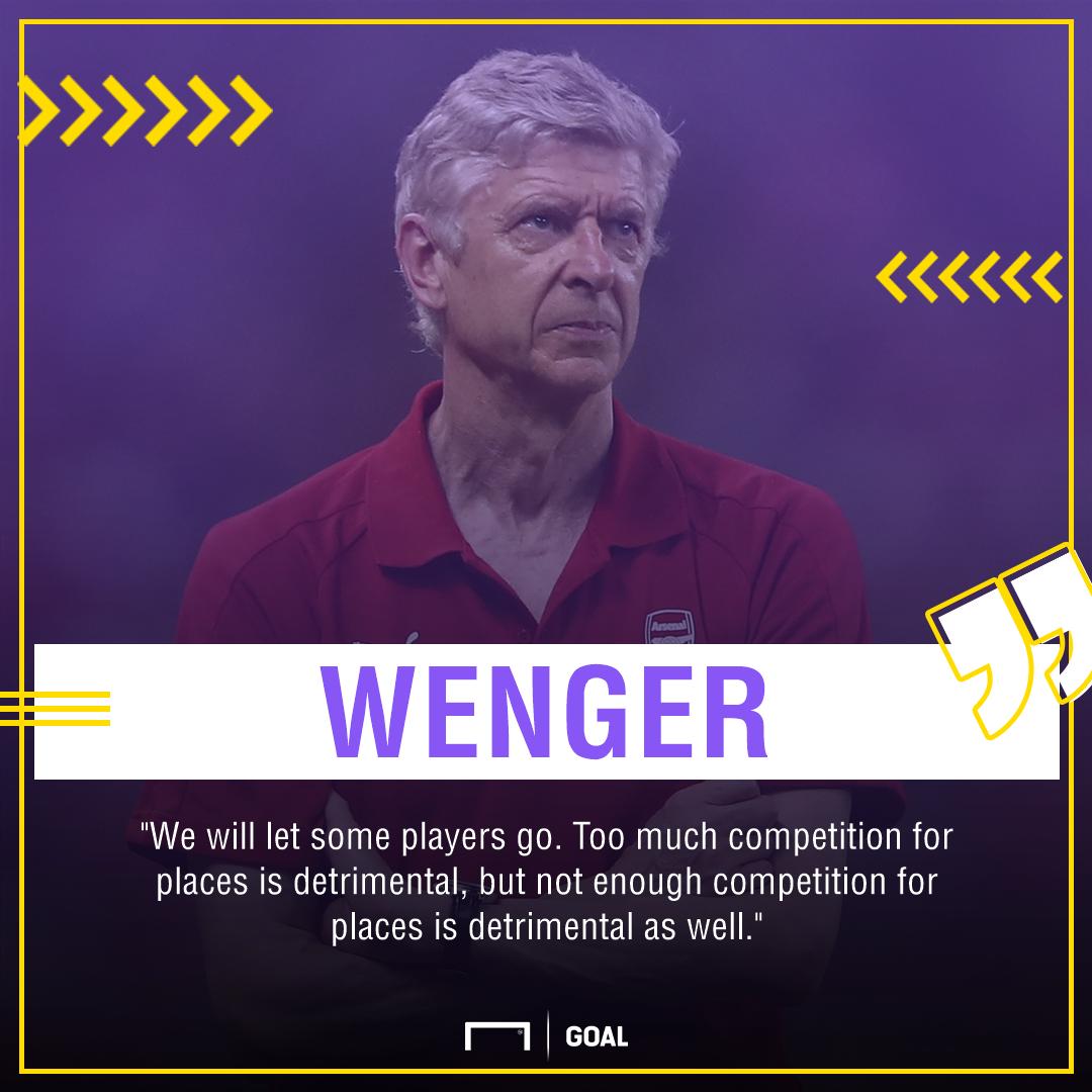 Arsene Wenger Arsenal exits