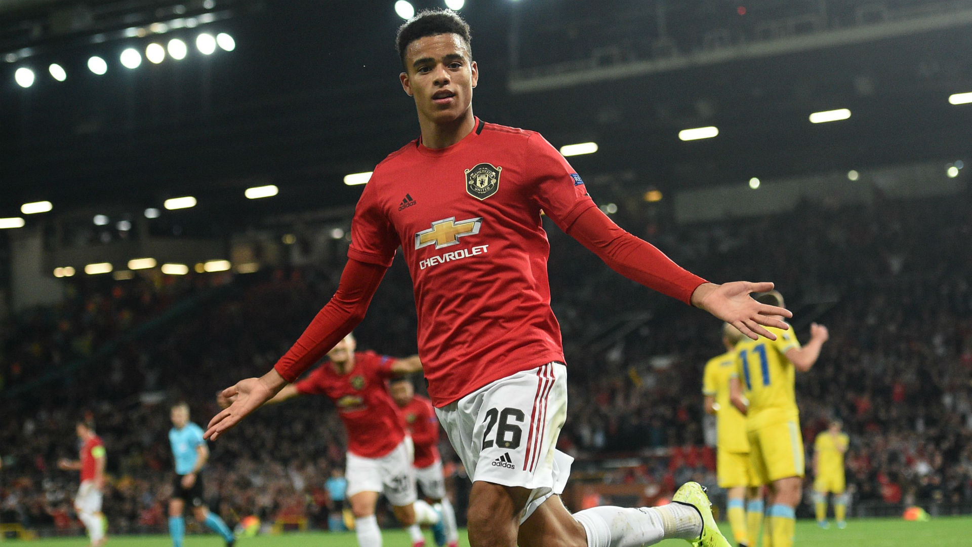 Greenwood becomes first Man Utd scorer born after 2000