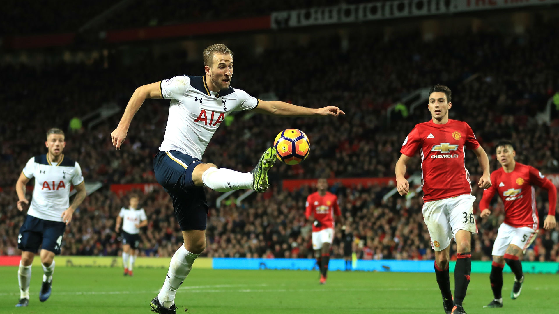 Harry Kane Tottenham Manchester United