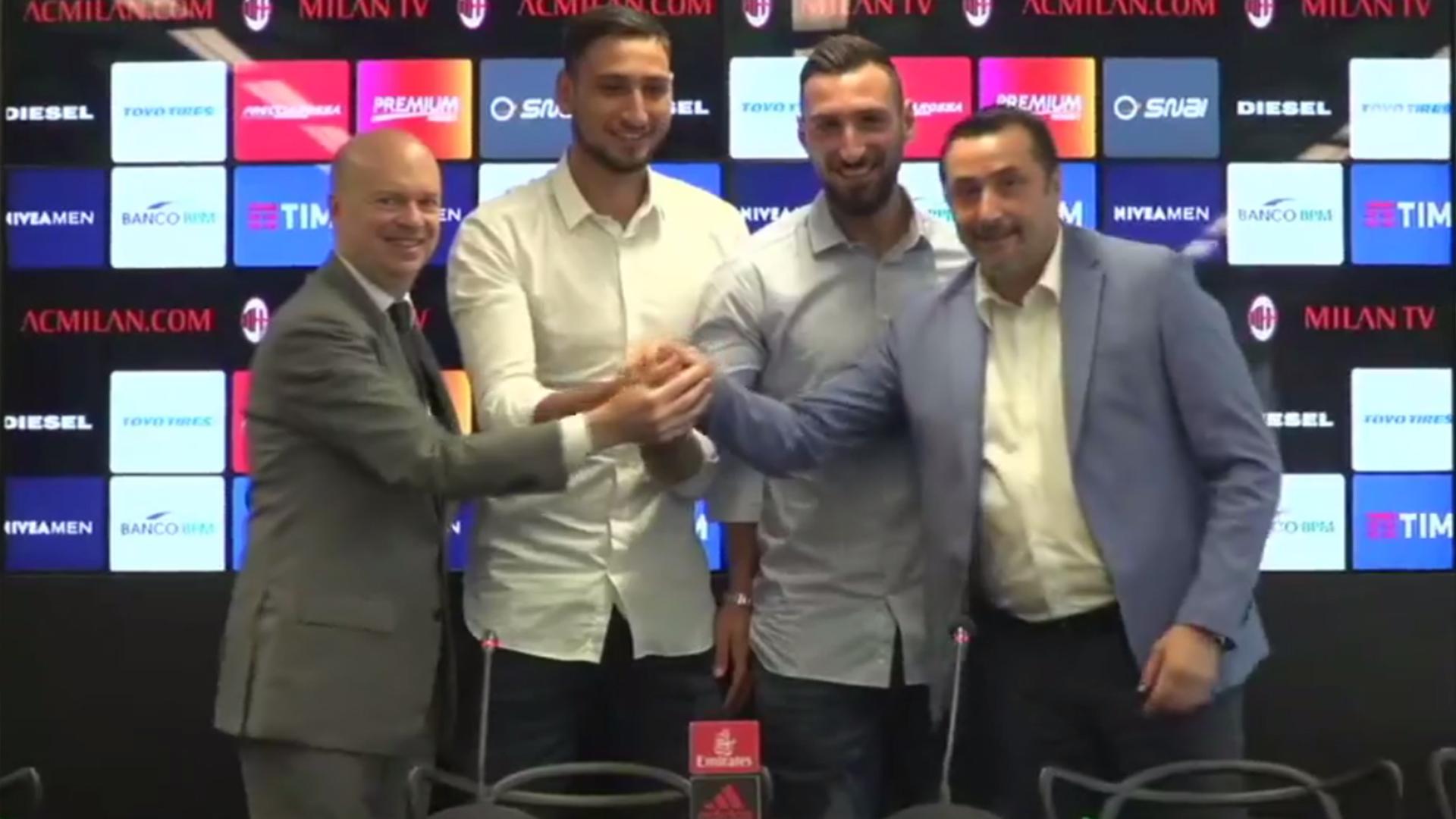 OFICIAL: fim de novela, Donnarumma renova com o AC Milan