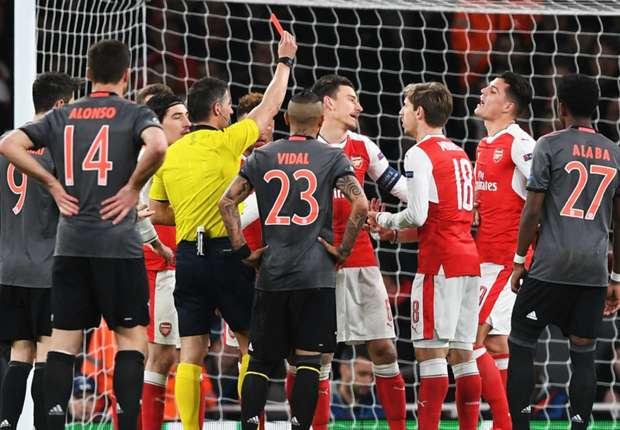 Tokeo la picha la Refaree Arsenal Vs Fc Bayern Munich 07-march-2017
