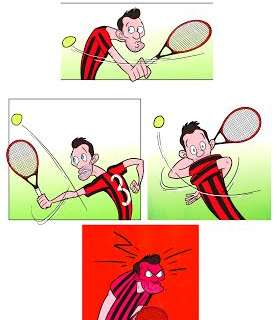 Maldini: Milan legend to tennis star!