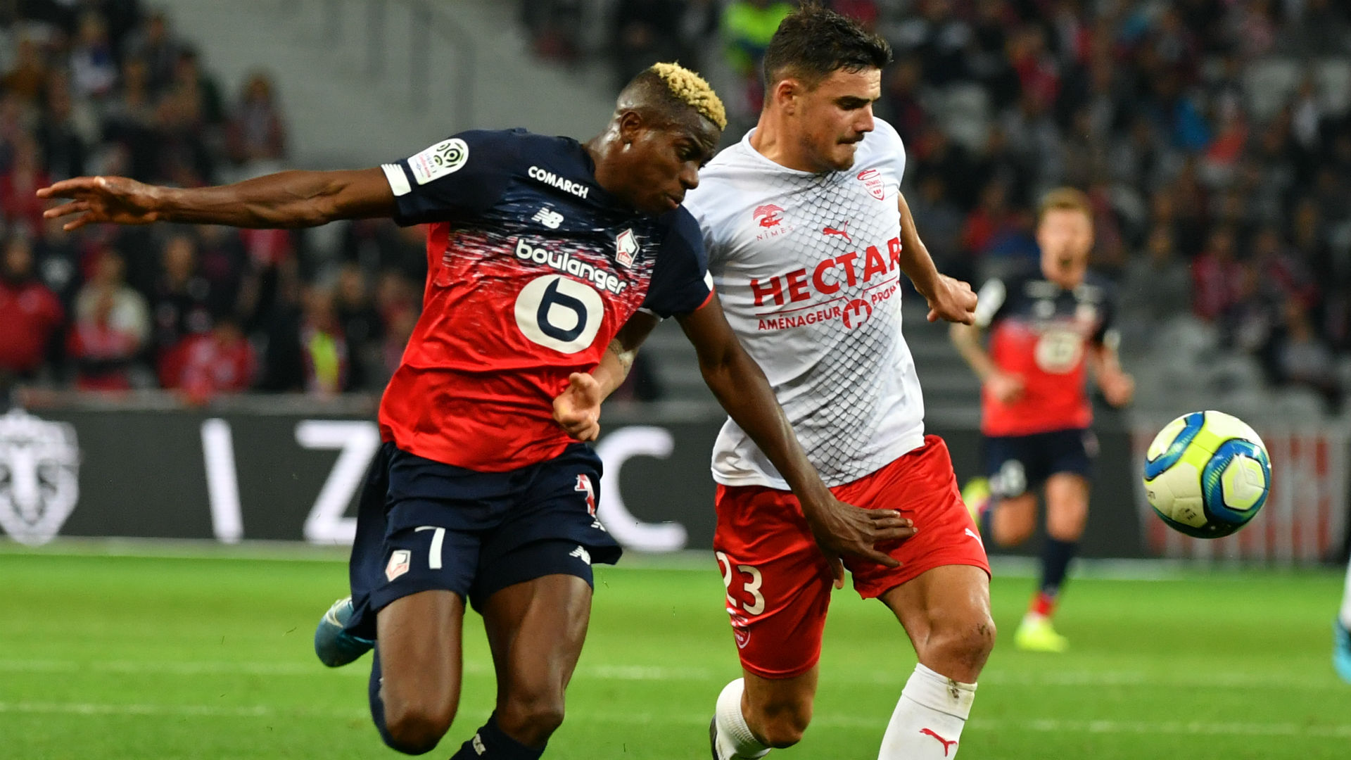 Osimhen and Slimani shortlisted for Ligue 1 Player of the Month award