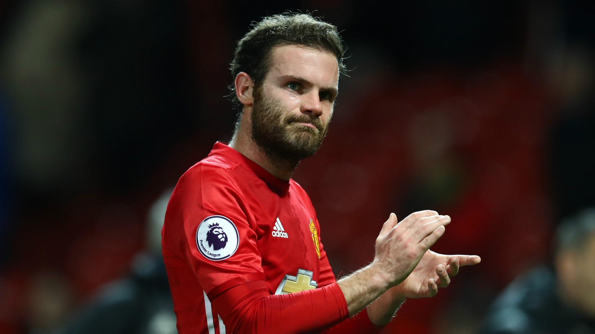 Juan Mata Manchester United 2017