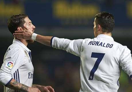Ramos rage: Ronaldo has to run too