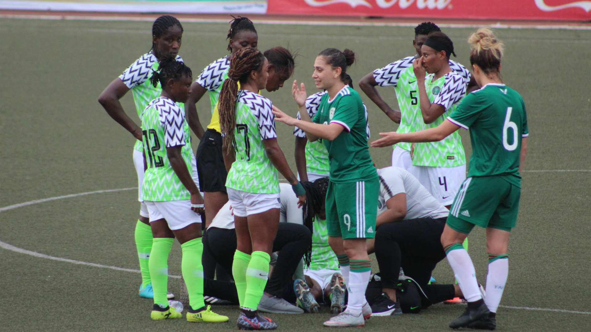 Gallery: How Oshoala fired Super Falcons past Algeria in Lagos