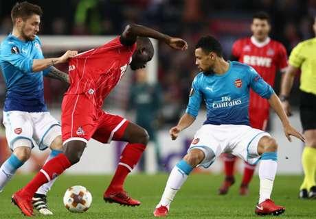 Köln arbeitet sich zum Sieg gegen Arsenal
