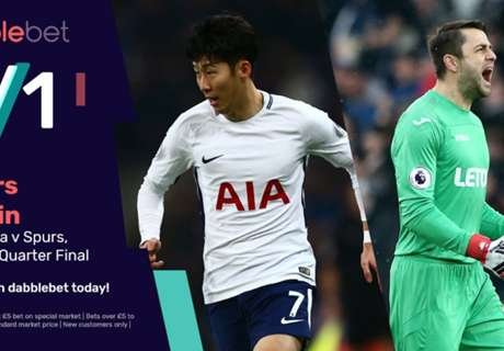 Get amazing 3/1 odds for Spurs to beat Swansea
