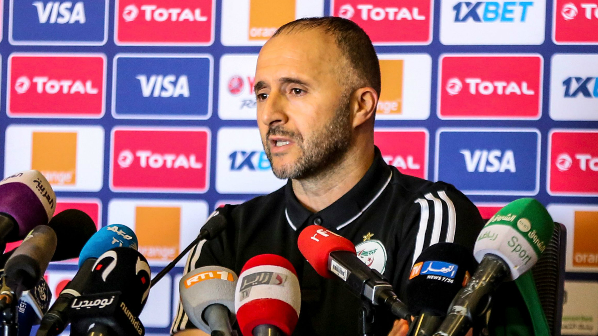 Afcon 2019: 'We want to write our own history' - Algeria coach Belmadi