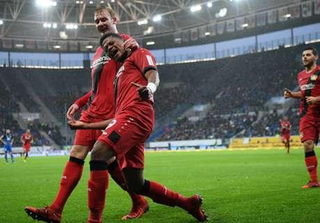 Bayer razbio Hoffenheim i skočio na drugo mjesto, slavlje Kovača, Brekalo zamijenjen na poluvremenu