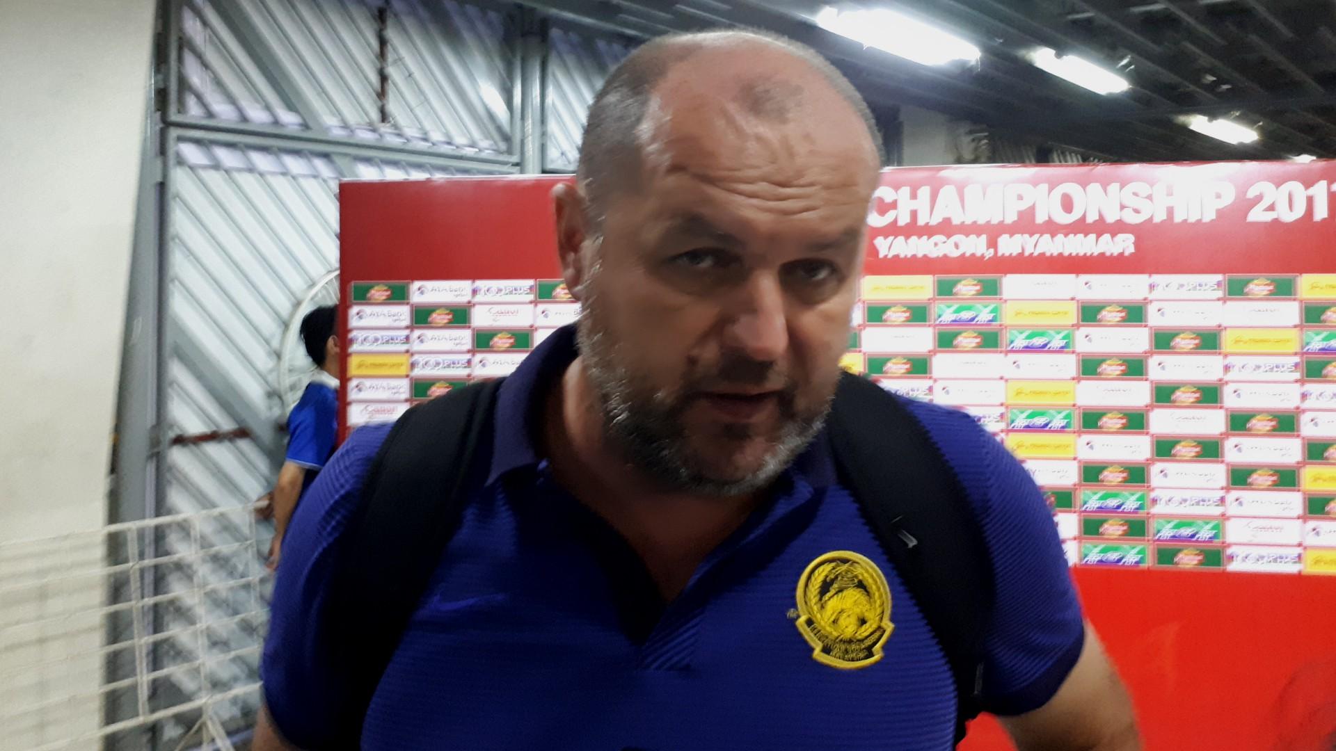 Bojan Hodak Malaysia U-19