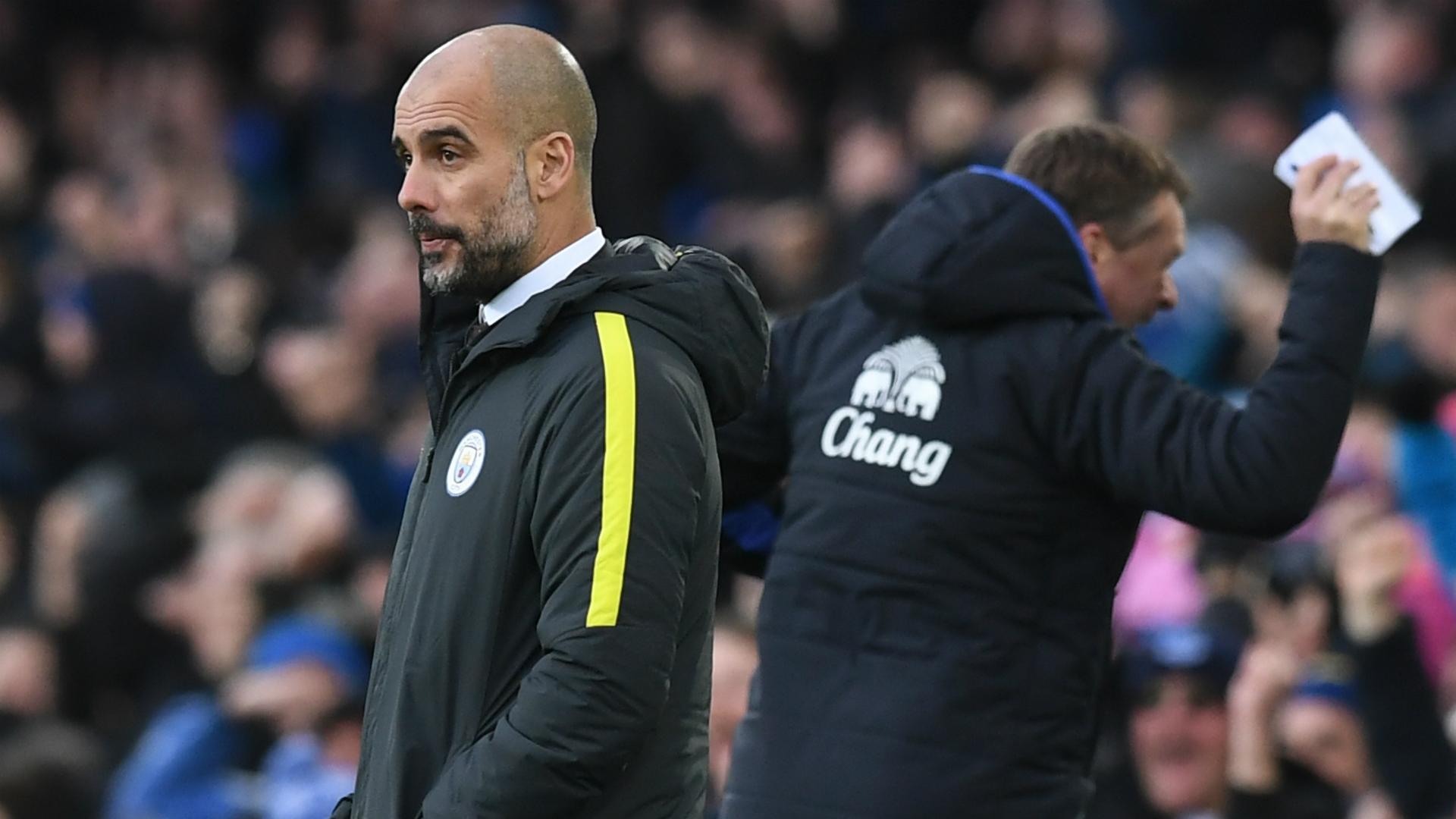 Pep Guardiola Everton Manchester City