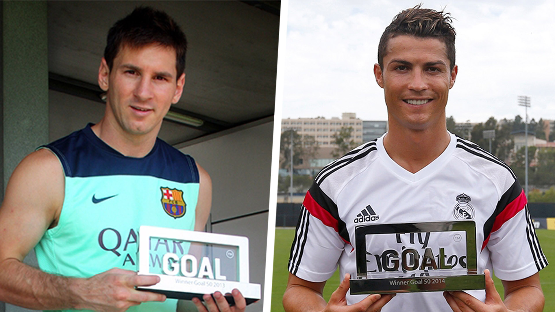 Goal 50 past winners: Ronaldo, Messi & every best player of the year