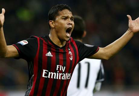 Montella has no problems with Bacca
