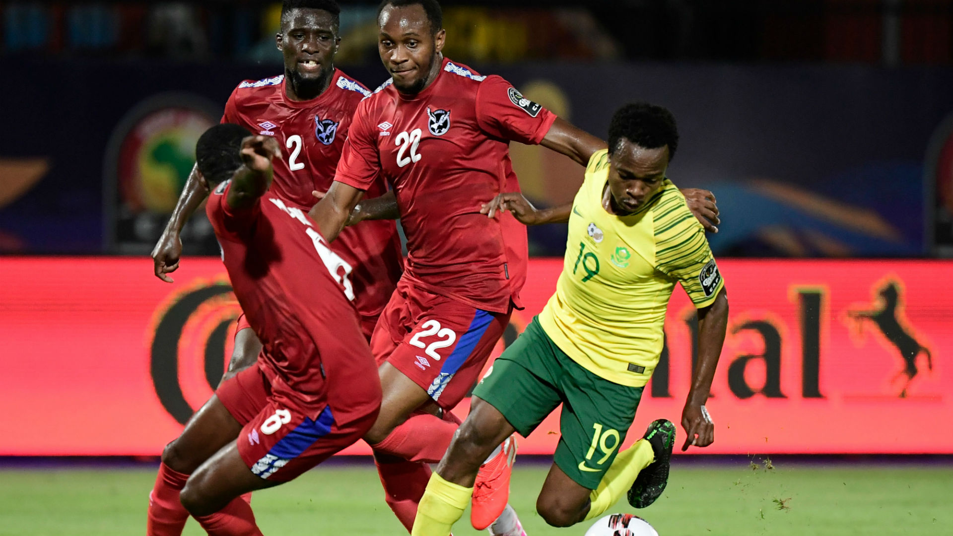 CAN 2019 - L'Afrique du Sud bat la Namibie et se relance (1-0)