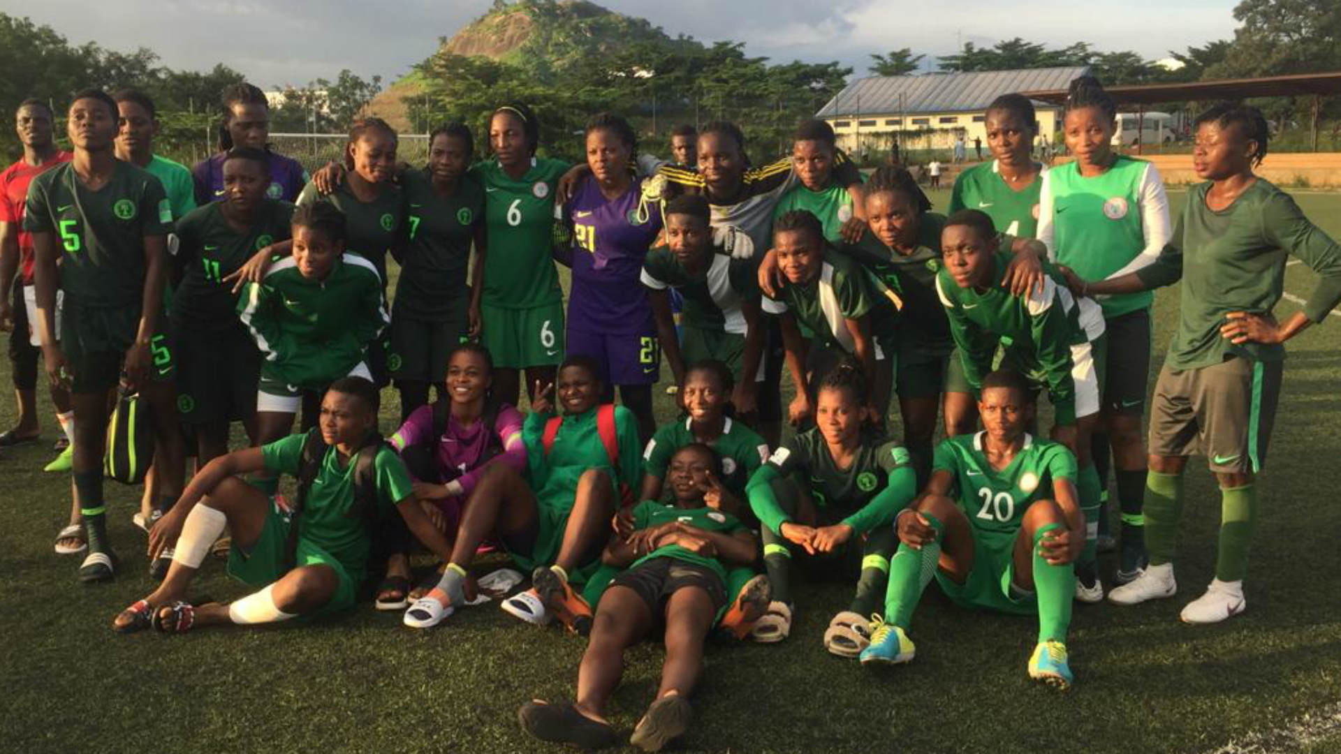Nigeria U20 women step up 2019 All African Games preparation with victory