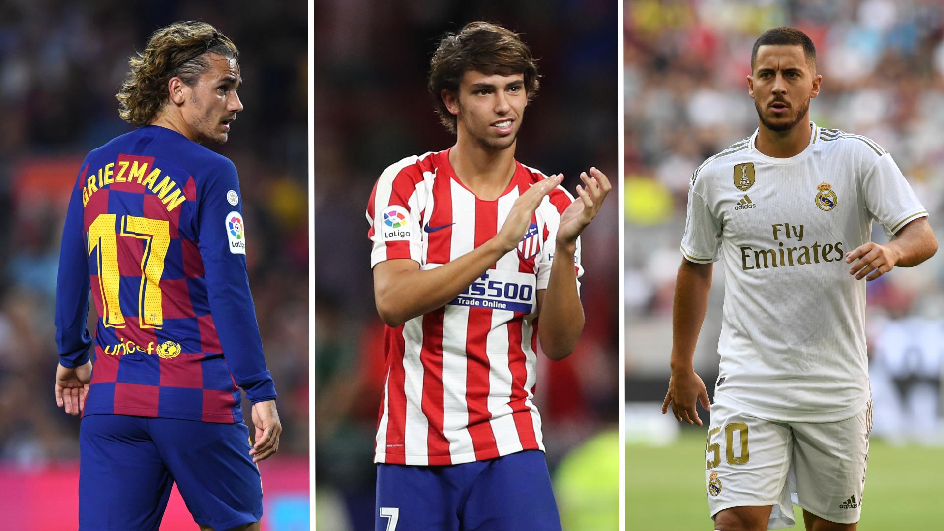 Mercato - Griezmann, Joao Felix, Hazard : les 20 plus gros transferts de Liga