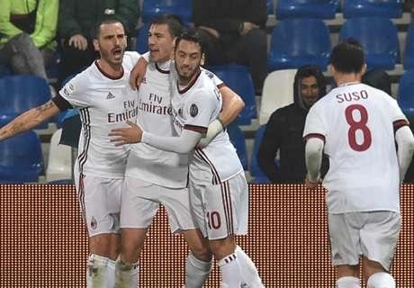 Montella 'muta' il Milan: 3-5-1-1 a Napoli