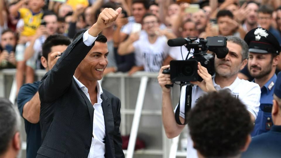 Cristiano Ronaldo Juventus medical