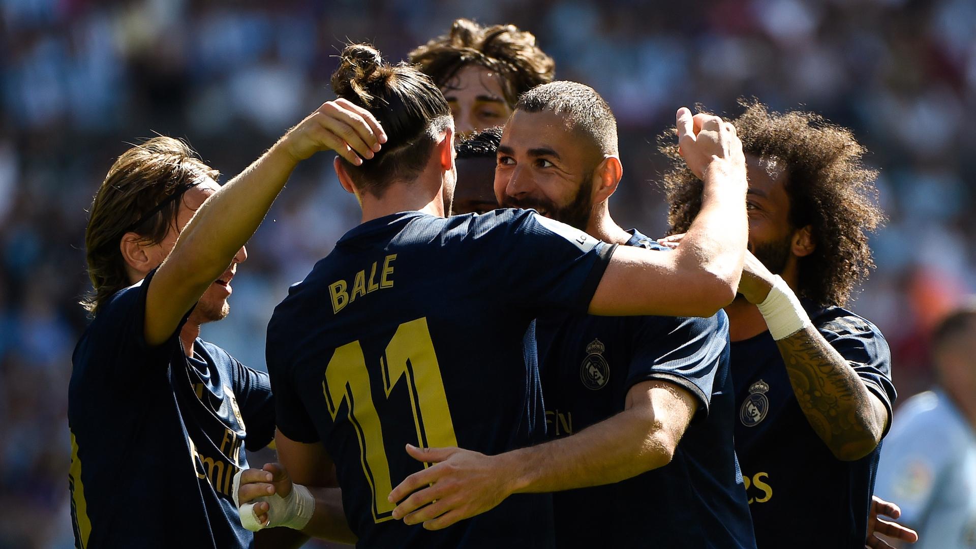 Celta Vigo-Real Madrid 1-3, le Real de Zidane réussit sa première