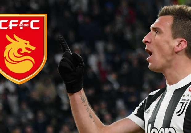 Transfer news  Hebei China Fortune want Juventus striker Mandzukic -  Goal.com 1f67370682cb