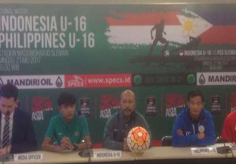 Timnas Filipina U-16 Sudah Pahami Kekuatan Indonesia U-16